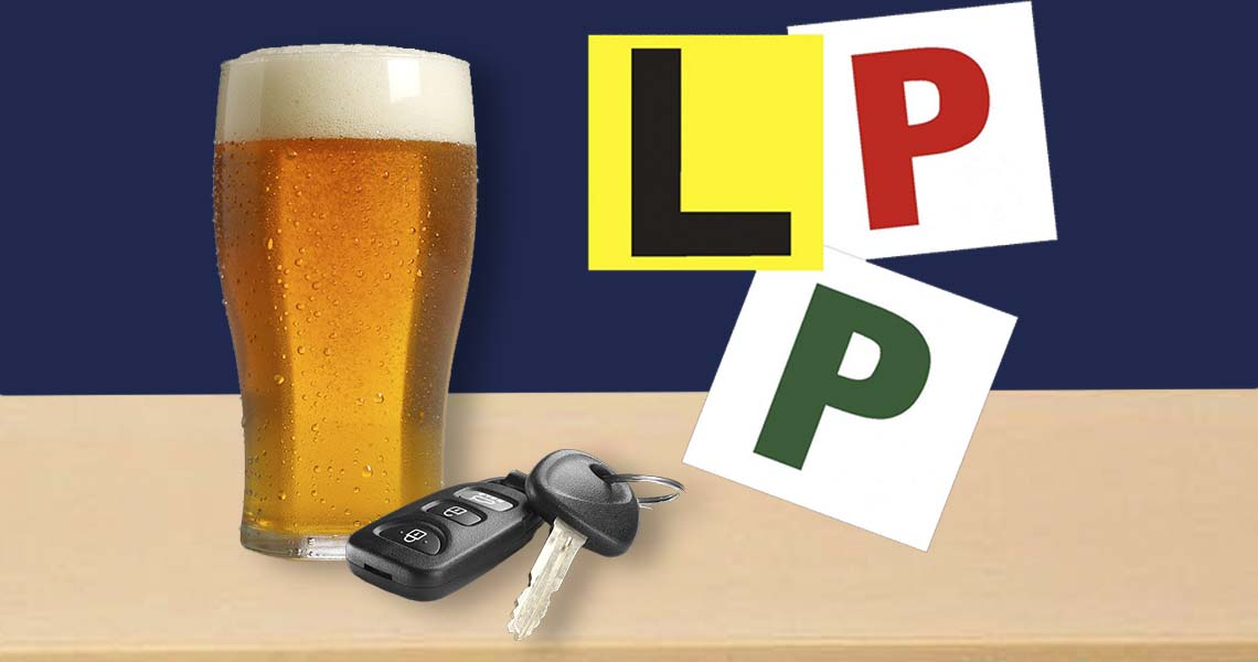 Know how your license type is effected by drinking